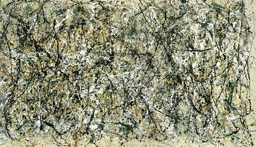 One: number 31, 1.950 by Jackson Pollock