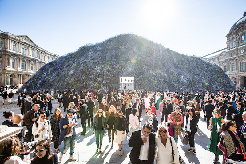 PARIS, FRANCE - OCTOBER 02: An external view of the venue of the Christian Dior show as part of the Paris Fashion Week Womenswear Spring/Summer 2016 on October 2, 2015 in Paris, France. (Photo by Victor Boyko/WireImage)
